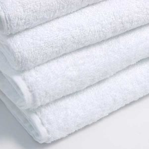 Hotel supplies towels