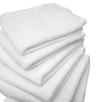Wash Cloth White 13″ x 13″